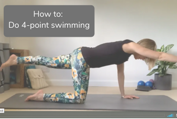 How to do 4 point swimming