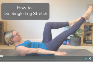 How to do Single Leg Stretch