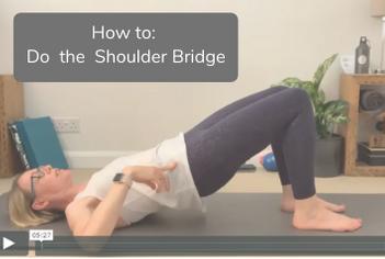 How to do the Shoulder Bridge