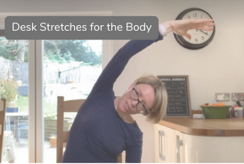 Side stretch in chair